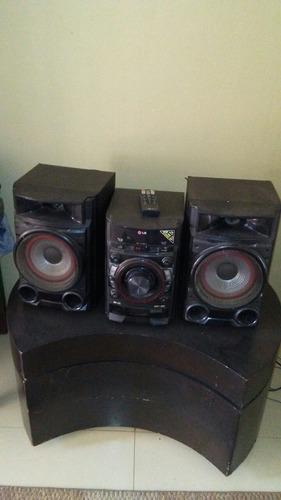 lg equipo de sonido