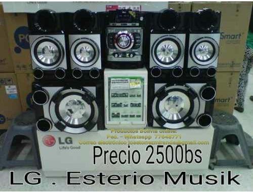 lg. esterio musik