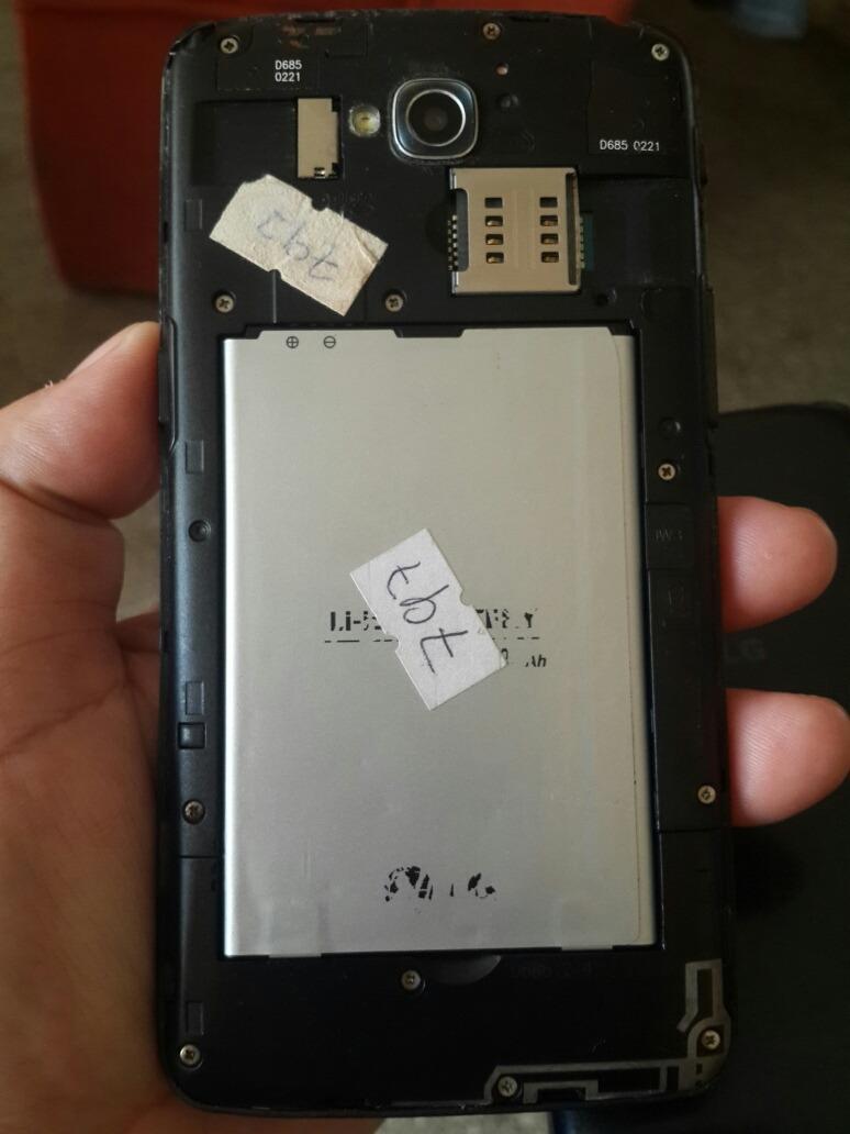 Lg G Pro Lite Dual D 686 Para Repuesto Bs 500 En Mercado Libre D686 Black Cargando Zoom