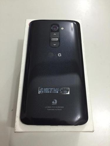 lg g2 d805 - android 4.2, 4g, wi-fi, câm 13mp, 16gb - usado