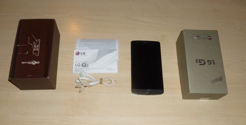 lg g3 d855ar 16 gb  a reparar o repuestos, personal!!!