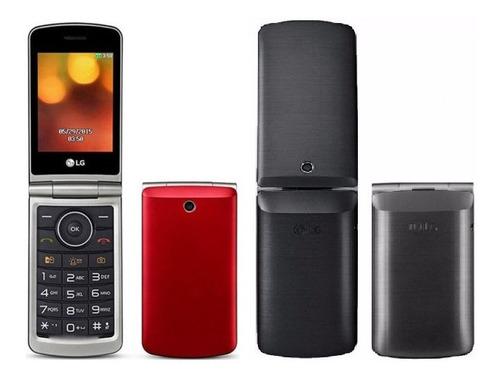 lg g360 dual sim 32 mb vermelho-vinho 8 mb ram