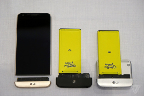 lg g5 4gb ram, 32gb, 16mp, android marshmallow nuevo