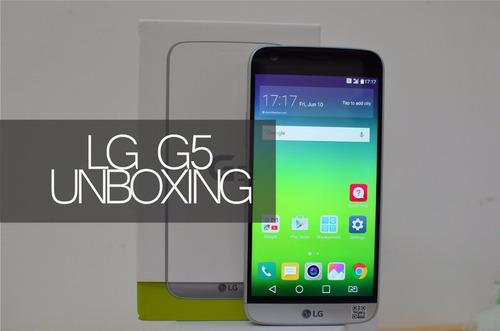 lg g5 nuevo 32 gb silver oferta increible!