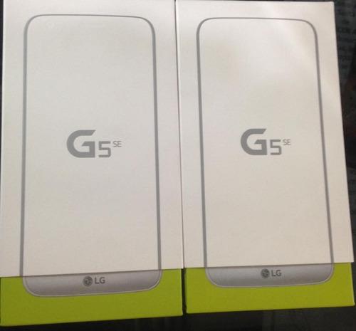 lg g5 se, 32gb, 3gb ram 4g octacore 1.8 ghz, tienda, sellada