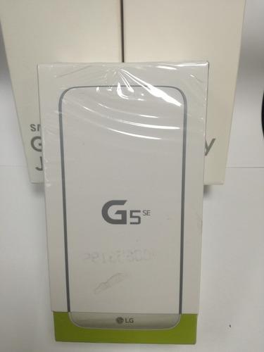 lg g5 se 32gb nuevo en caja libre 4g lte sellado