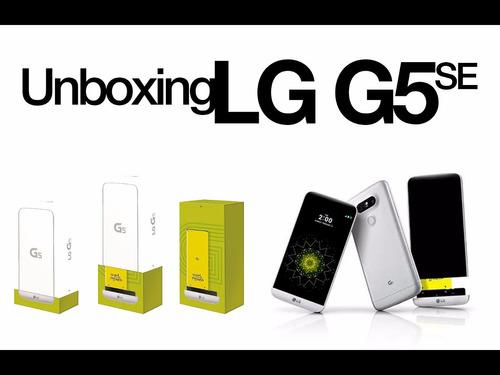 lg g5 se 4g lte 32 gb nuevo,caja sellada + garantía y tienda