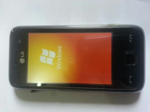 lg gm 750 windows com defeito para peças