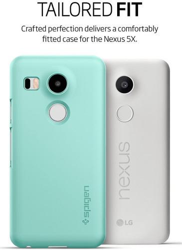 lg google nexus 5x spigen thin fit carcasa protector case