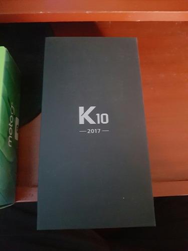 lg k10 2017 nuevo en caja