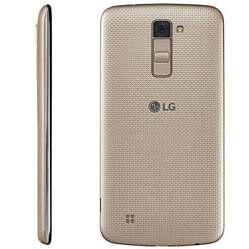 lg k10 k430dsy dual sim 16gb 4g tela 5.3 dourado p. entrega