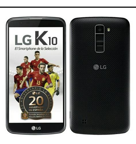 lg k10 nuevo liberado negro no se permuta