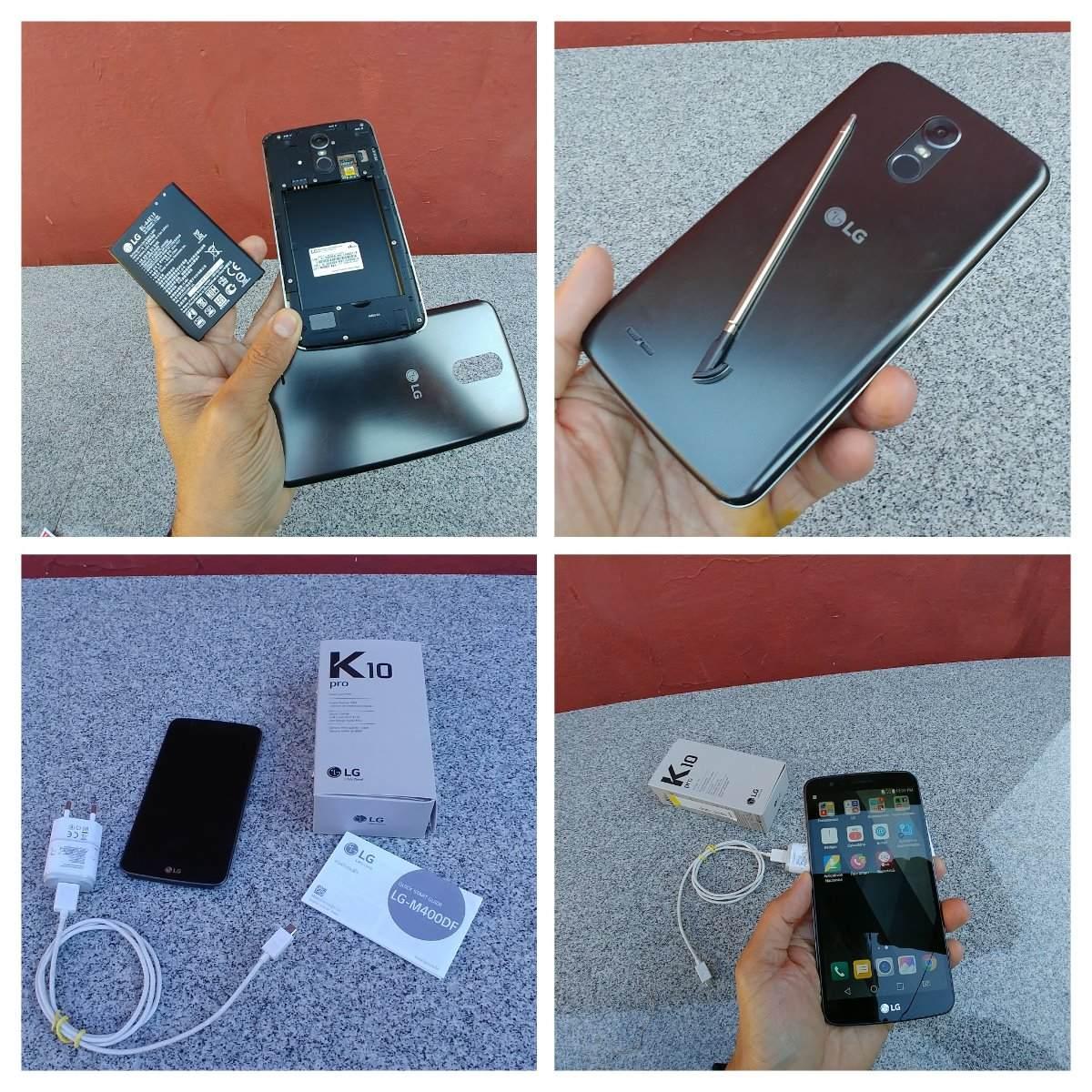 c55244b23 Lg K10 Pro Pouco Uso Perfeito Original Na Caixa Com Acessori - R ...