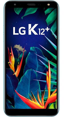 lg k12 32gb 5,7'' câmera 16mp frontal 8mp android 8.1 azul