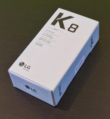 lg k8 2017 16gb ram 1.5gb sellado somos tienda garantia 12me