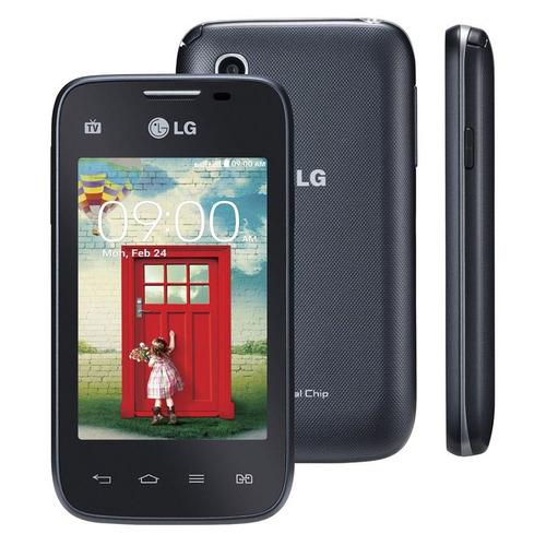 lg l35 d157 dual tela 3,2' 4gb wi-fi 3g 3mp android usado