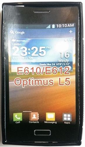 lg l5 e610 / e612 forro tpu lg optimus l5