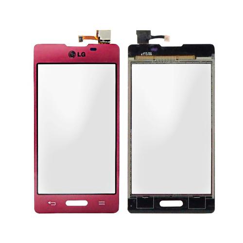 lg l5x e450 touch screen cristal rosa