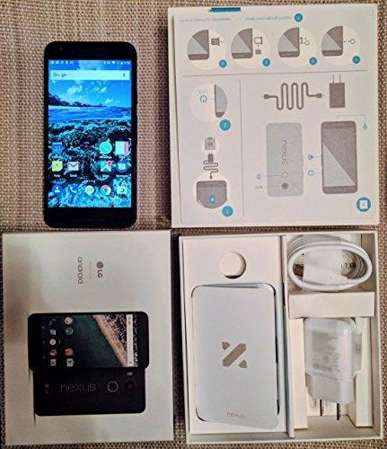 "lg nexus 5x unlocked smart phone, 5.2 ""carbon black 16"