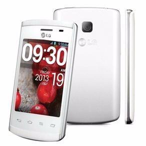 lg optimus l1 il e410f branco em excelente estado - fg