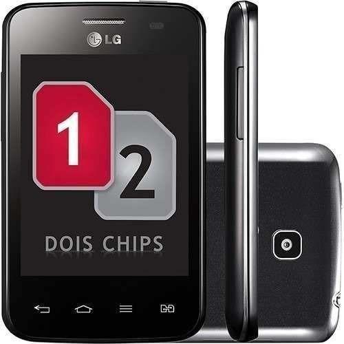 lg optimus l3 ii e435 dual chip com nota fiscal vitrine