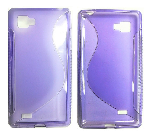 lg optimus p880 x4 hd forro tpu color purpura lg p880