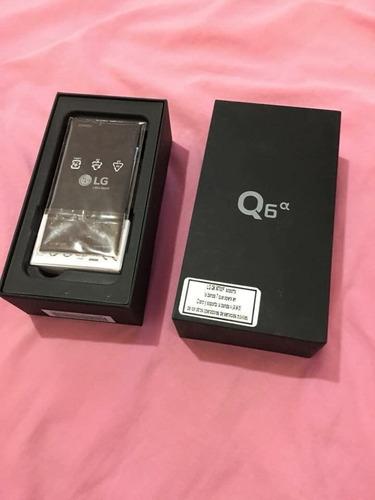 lg q6 alfa en perfecto estado