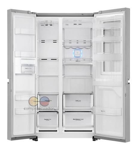lg refrigeradora nevera side by side toc toc 626 l 3 puertas