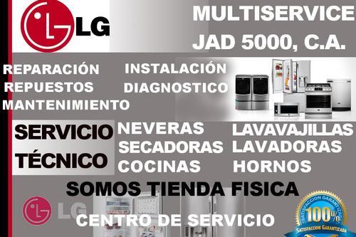 lg servicio técnico neveras lavadoras (repuestos - reparació