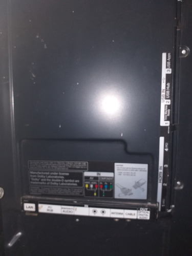 lg smartv 47lm7600-da 47  para reparar...y sus accesorios