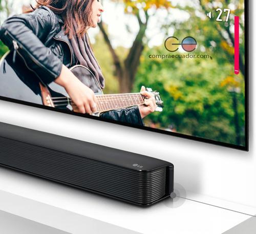 lg sound bar barra de sonido bluetooth 2.0 canales 40w