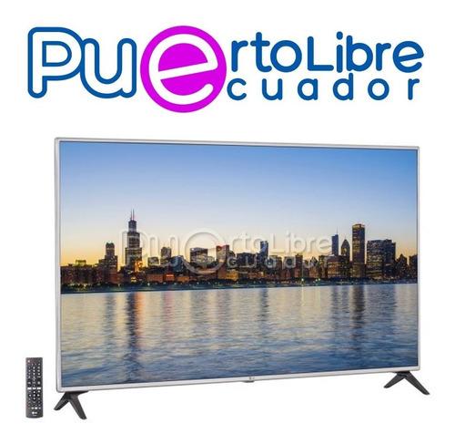 lg televisor 4k led smart tv 55 + g r a t i s soporte pared