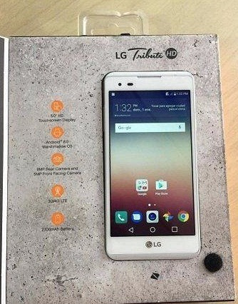 lg tribute hd, 16gb memoria interna, 1.5 ram android