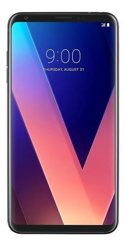 lg v30+ gsm/cdma - smartphone desbloqueado, color negro
