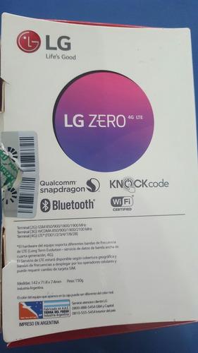 lg zero como nuevo!!!