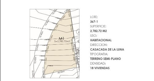lgv/ excelente terreno habitacional, ideal para inversionistas a desarrollar un complejo exitoso