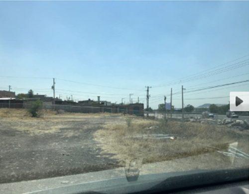 lgv/ terreno a pie de carretera de uso comercial