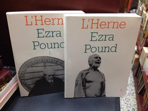 l'herne - ezra pound - n° 6 y 7 - en francés