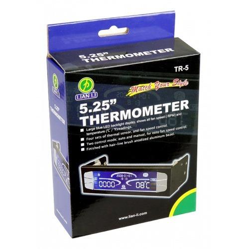 lian li tr-5b  digital 5.25  lcd termometro / fan controler