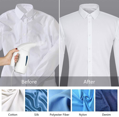 liantral steamer for clothes, handheld portable fabric st