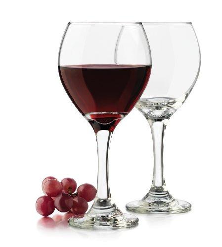 libbey vaso de vino clásico de 13.5 onzas, transparente, de