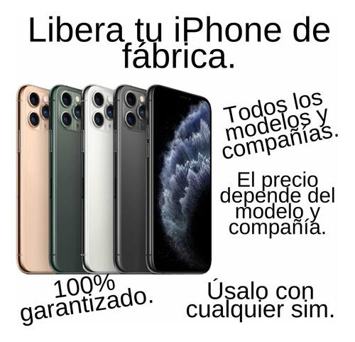 libera tu iphone para usarlo con cualquier sim. 100% seguro