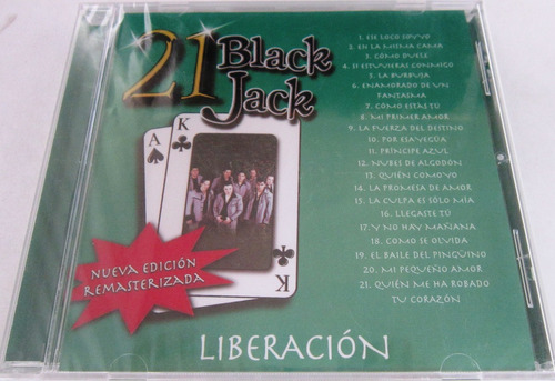 liberacion - 21 black jack nuevo cd