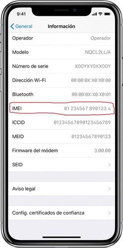 liberación de iphone por imei