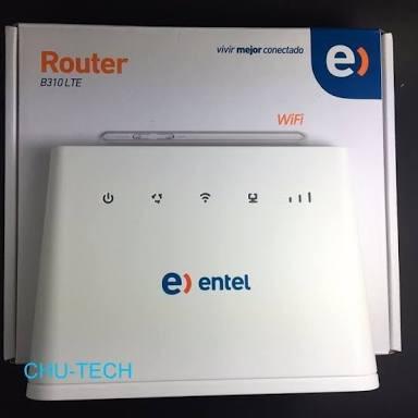 liberación modem router huawei b310s 4g lte entel y voz rj11