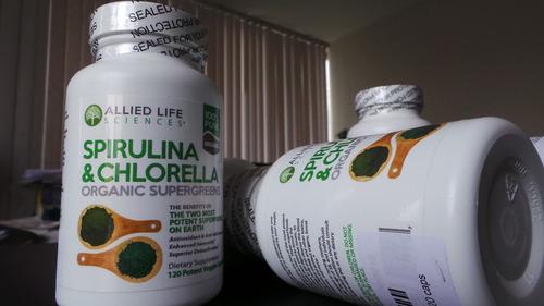 liberador de células madre - stem cell spirulina & chlorella