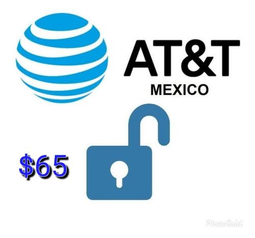 liberar celular at&t $65 pesos