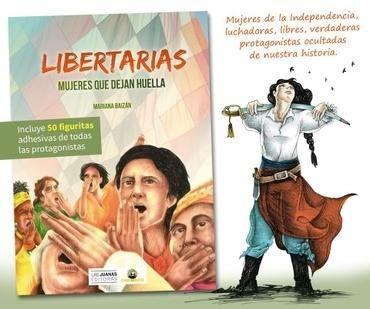 libertarias. mujeres que dejan la huella - mariana baizán