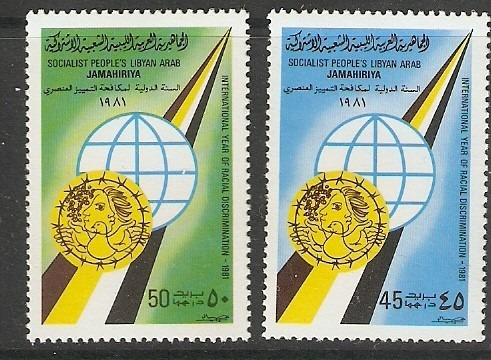 libia 1978 año lucha contra la discriminación racial