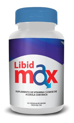libidmax 60 caps  500 mg- original
